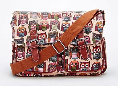 Dompet Smart Wallet Printing Owl Pink Mammora new today pink multi owl print satchel for 163 18 99 so pretty you deserve one
