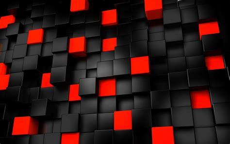 wallpaper black red 3d wallpaper 3d cubes black red abstract 639
