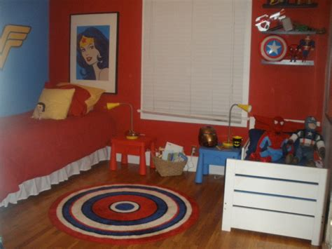 girls superhero bedroom super hero shared room making it work for boy and girl