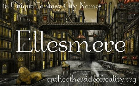 unique town names the 25 best fantasy character names ideas on pinterest