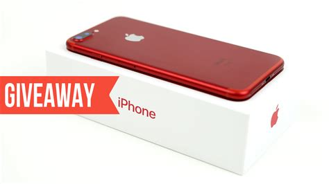 Reds Giveaways - iphone 7 plus red 128 gb international giveaway 2017 blogrope