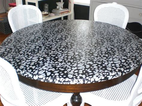Decoupage Glass Table Top - best 20 glass table redo ideas on vintage