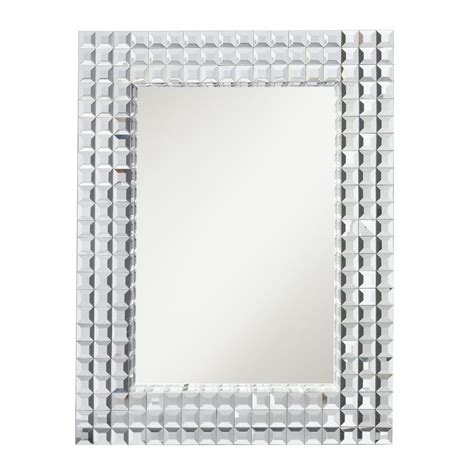 Bling Bathroom Mirrors by Westwood 78121 Bling Rectangular Mirror Kch 78121