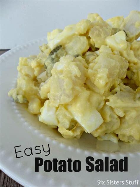 mom s easy potato salad side dish six sisters stuff