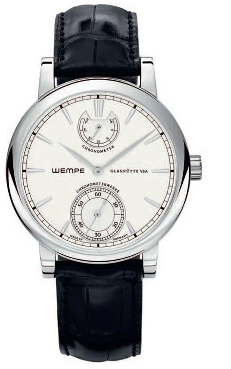 new chronometerwerke wg08 by wempe