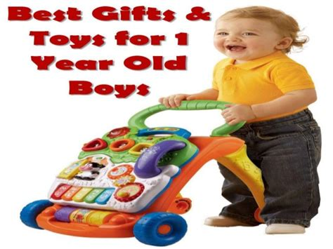 best gifts toys for 1 year boys