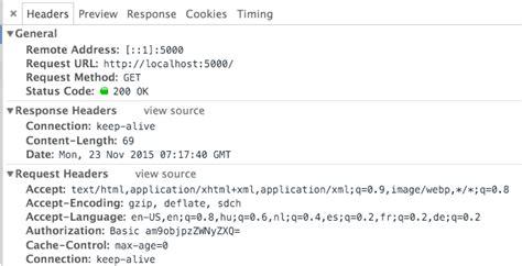 simple node js authentication google chrome basic web authentication method