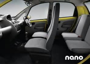tata nano interior img 3 it s your auto world new