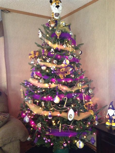 our lsu christmas tree christmas pinterest