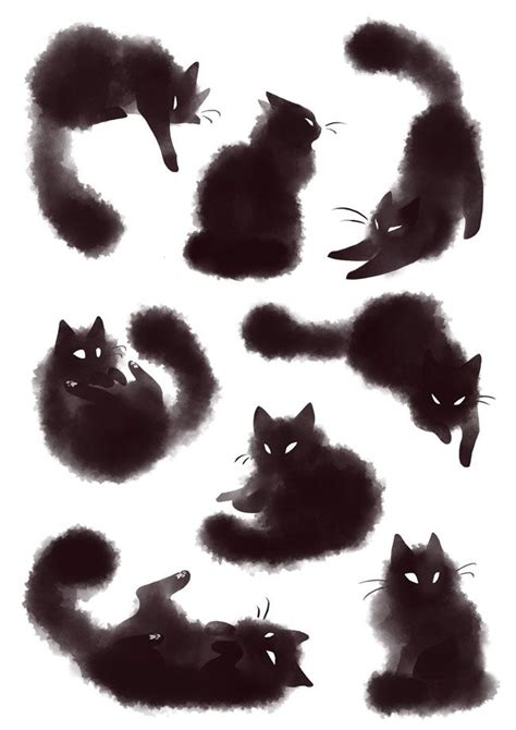 tattoo shadow cat 639 best artistic cats images on pinterest cute kittens