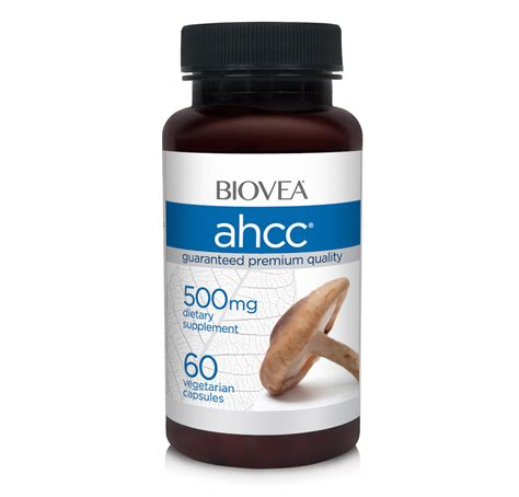 s 500 supplement reviews ahcc 500mg 60 capsules biovea dietary supplements