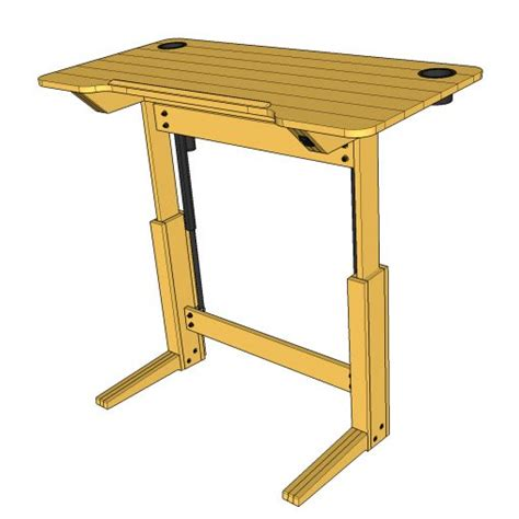 Drafting Table Standing Desk by Lift Bridge Standing Desk Drafting Table Plans Lift