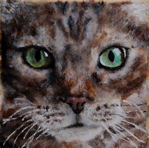 paint a cat acrylic paint cat mollyredman