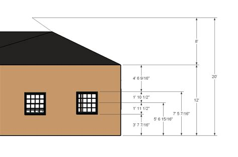 house elevation dimensions structural engineer