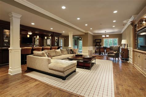9 simple steps to creating the finished basement of your