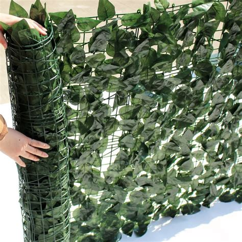 uland garden plastic chain link privacy fence xm