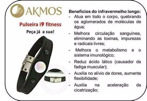 Pulseira Bioquântica Akmos   R$ 139,99 em Mercado Livre
