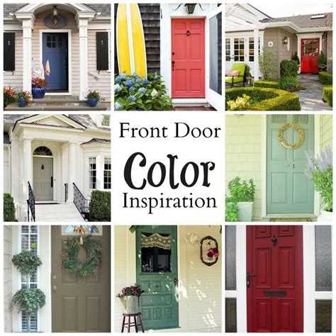 the 5 most welcoming colors for your front door appealing what color front door with tan house images