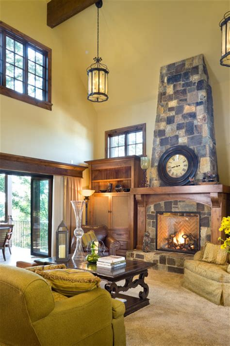 alan mascord the rivendell manor traditional living room portland