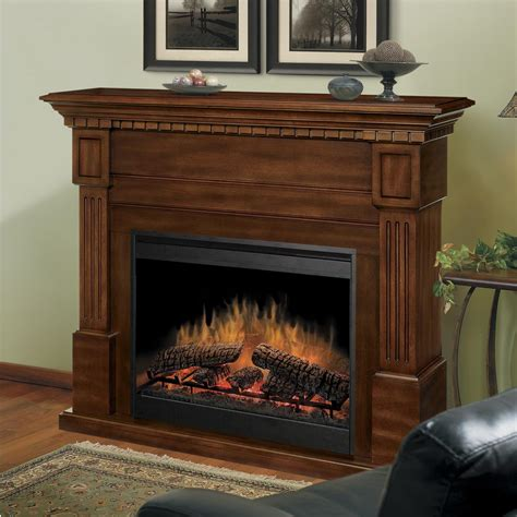 Wood Mantel On Fireplace by Decoration For Brown Wooden Mantel Fireplace