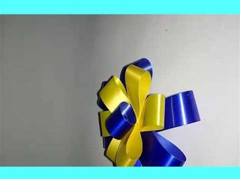 cara membuat origami dari pita cara membuat bunga pita dari pita jepang youtube