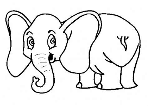 imagenes infantiles para imprimir de animales dibujos de animales para colorear elefante
