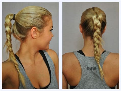 easy hairstyles gym 5 cute and easy gym hairstyles inspire beauty tips