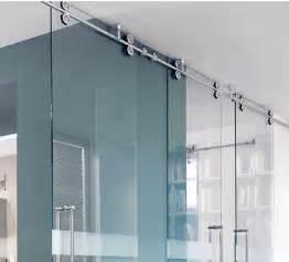 sliding barn doors with glass puertas correderas de vidrio system twin de mwe dise 241 o y
