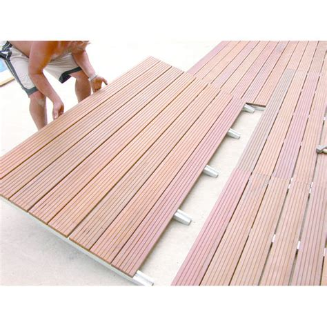 vtec terrasse terrasses modulaires bois ou composite sur structure acier