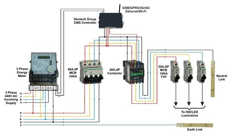 energy meter wiring diagram electric sub meter wiring