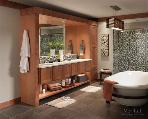 Merillat Vanity by Merillat Classic 174 Tolani In Maple Toffee Merillat
