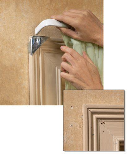 curtain rod holder no nails top 25 ideas about window moldings on pinterest window