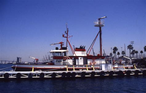 long beach fireboat vigilance long beach ca fire boats
