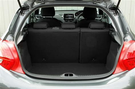 peugeot 208 trunk peugeot 208 interior trunk space related keywords