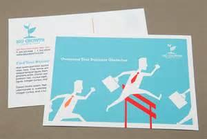 30 simple creative postcard design ideas