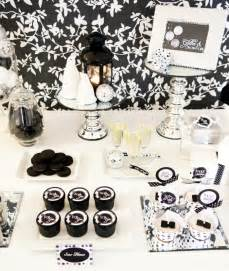 Black And White Themed Party Decorations - black and white party decorations party favors ideas