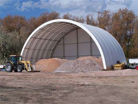 mbd fabric covered buildings  salt  sand storage