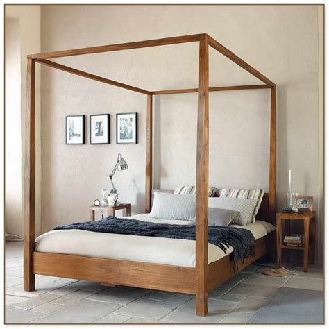 marvelous ideas for build a wood canopy bed frame cheap wood canopy bed frame queen 28 images bed frames