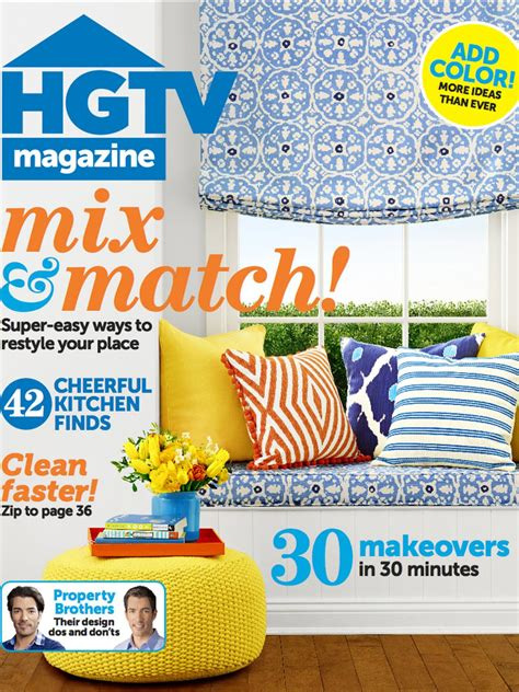 How To Remodel A Small Bathroom hgtv magazine april 2014 hgtv