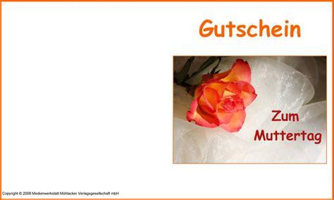 Gutschein Schreiben Muster Gutschein Zum Muttertag 1 Medienwerkstatt Wissen 169 2006