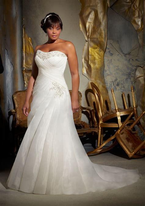 Full Figured Wedding Dresses by Mori Lee   Bitsy Bride