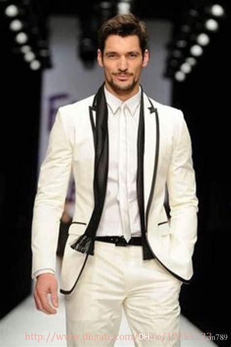 men fashion designer suit 2015 wedding groom tuxedo dinner