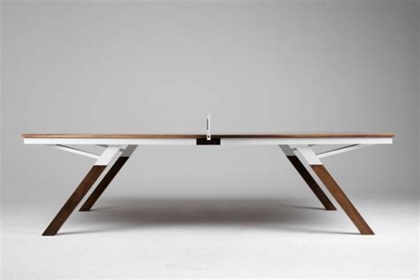 pong table designs a ping pong table for design design milk