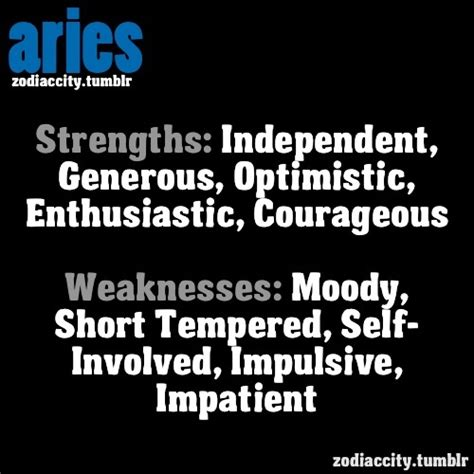 aries strength and weakness wake up pinterest