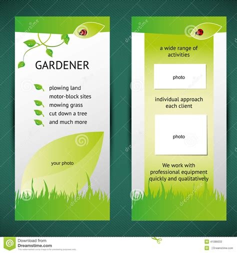 two fold brochure template 3 all templates deal