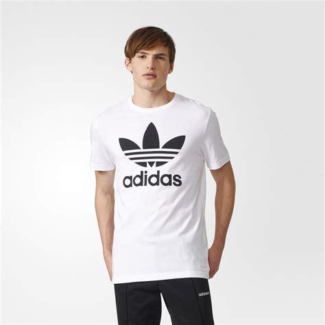 Tshirt Adidas Cloth adidas trefoil white adidas us