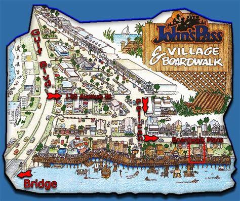 map of johns pass florida johns pass 727 363 1881 parasailing madeira