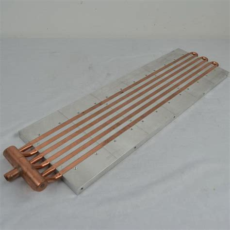 heat sink extrusion cold plate copper water cooled heat sink aluminum