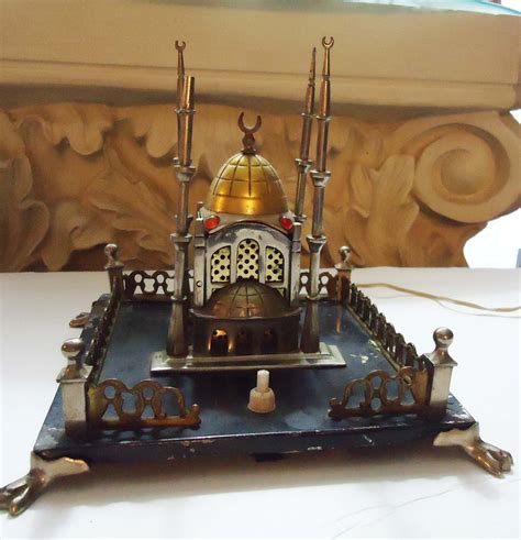 ottoman empire 1920 1920s taj mahal miniature building ottoman empire electric