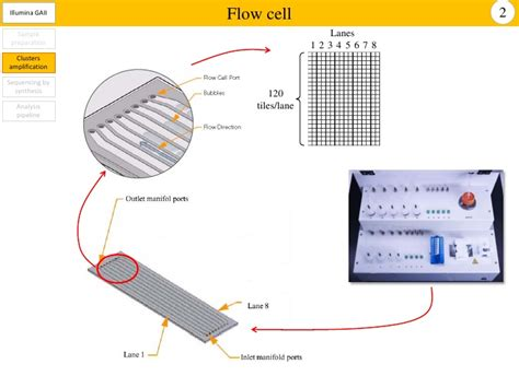illumina flow cell illumina gaiix for high throughput sequencing